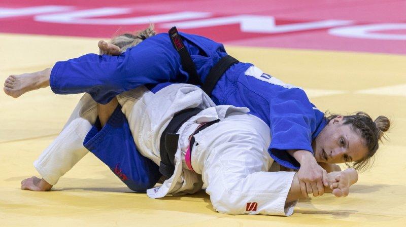 Judo: Fabienne Kocher décroche la deuxième médaille de bronze de l'histoire aux Mondiaux