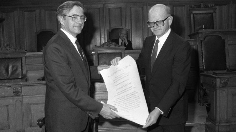 Carnet noir: décès du Prix Nobel Richard Ernst, père suisse de l'IRM