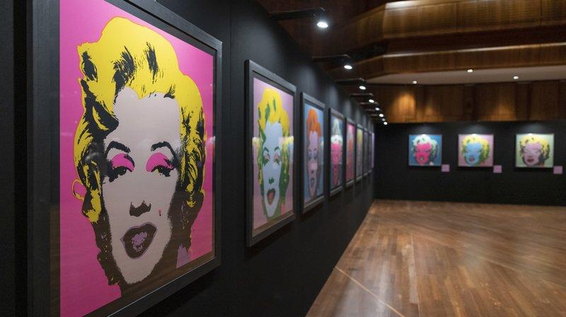 Exposition dédiée à Andy Warhol à Montreux