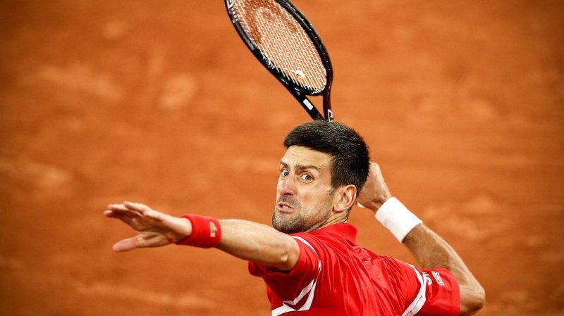 Novak Djokovic a rejoint Rafael Nadal en demi-finale de Roland-Garros.