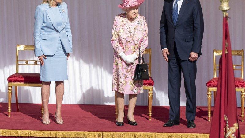 Grande-Bretagne: un thé avec la reine pour Joe Biden avant de quitter le Royaume-Uni