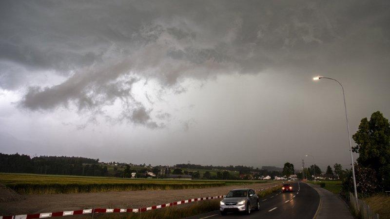 Les orages ont provoqué des dommages pour 200 millions de francs