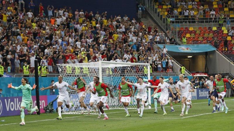 Euro 2021: les sept images pour l'éternité de la victoire de la Suisse