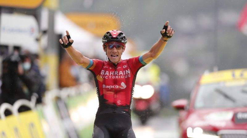 Cyclisme – Tour de France: Pogacar prend le maillot jaune, victoire de Teuns