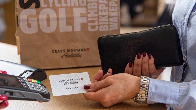 Crans-Montana: la carte prepaid devient une carte de fidélité