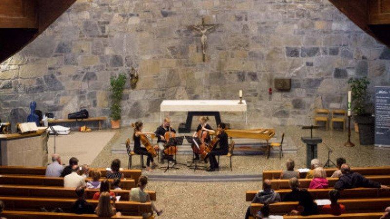 Académie de Musique Tibor Varga : Studenten der Akademie in Konzert : Viola, Kontrabass, Flöte und Fagott