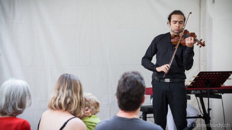 Académie de Musique Tibor Varga : Studenten der Akademie in Konzert : Cello, Viola, Gitarre, Gesang