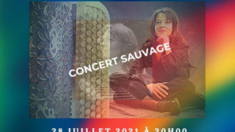Célina Ramsauer en Concert Sauvage
