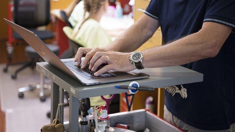 Santé: le dossier électronique du patient lancé lundi dans les cantons de Genève, Jura, Valais et Vaud