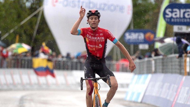 Cyclisme - Giro: le Bernois Gino Mäder contraint d'abandonner
