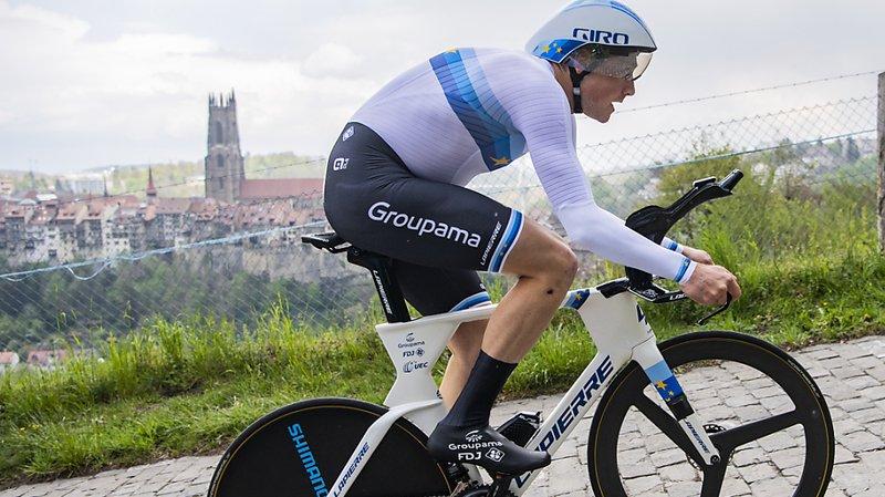 Stefan Küng (Groupama-FDJ) a remporté la 1re étape du Tour de Suisse, un chrono de 10,9 km à Frauenfeld.