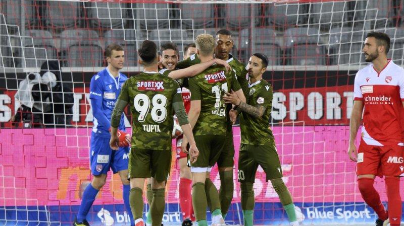 Football – match de barrage: Sion bat Thoune 4 à 1 et se rapproche du maintien