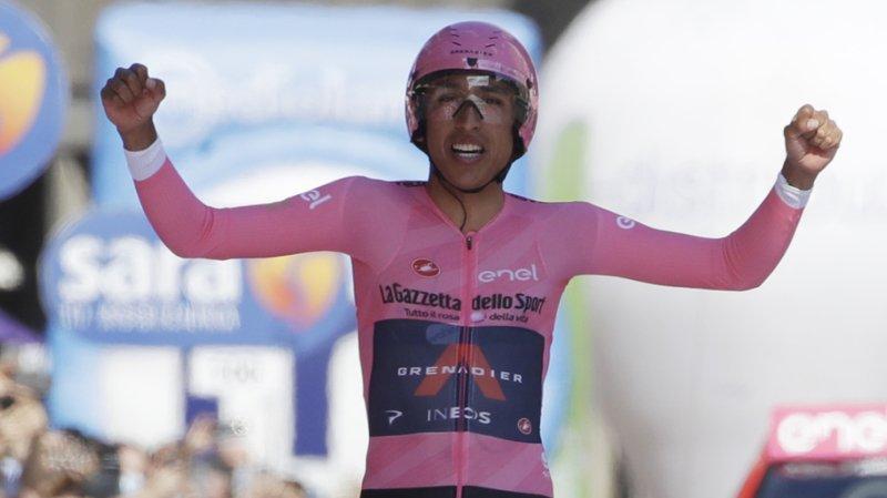 Le Colombien Egan Bernal a ajouté un deuxième grand Tour à son palmarès dimanche en s'adjugeant le Tour d'Italie.