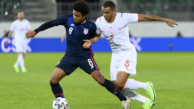 Football – match amical: l'équipe de Suisse a battu les Etats-Unis