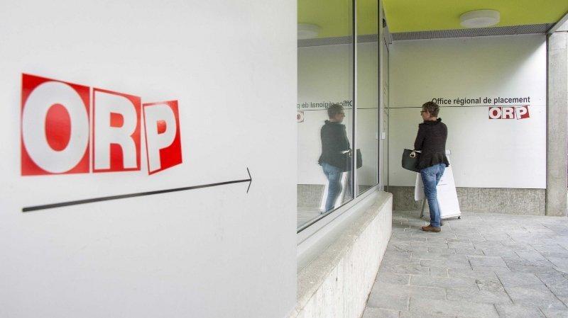 Valais: 673 chômeurs de moins inscrits dans les ORP entre avril et mai