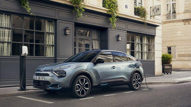 Automobile: la Citroën Ë-C4 en prise directe avec son temps