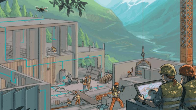 Construction : le boom technologique