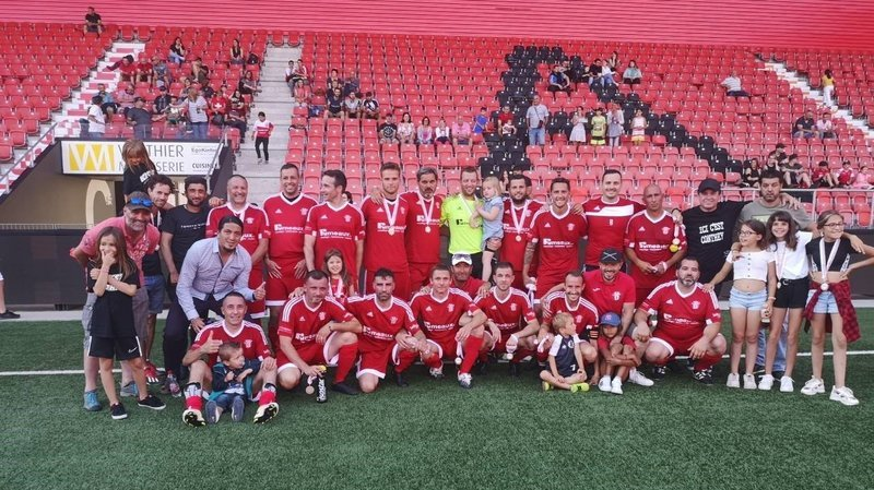 Football: Conthey ne ramène pas la Coupe de Suisse en Valais