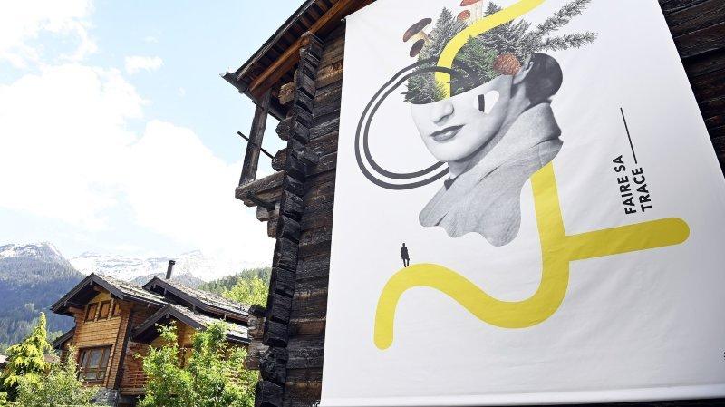 Des rêves à accrocher au village du Palp: dessine-moi un Bruson!