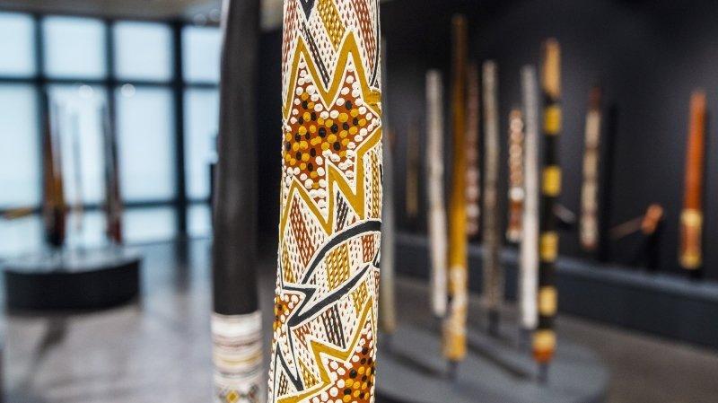 Exposition: la Fondation Opale de Lens vibre au son du didgeridoo