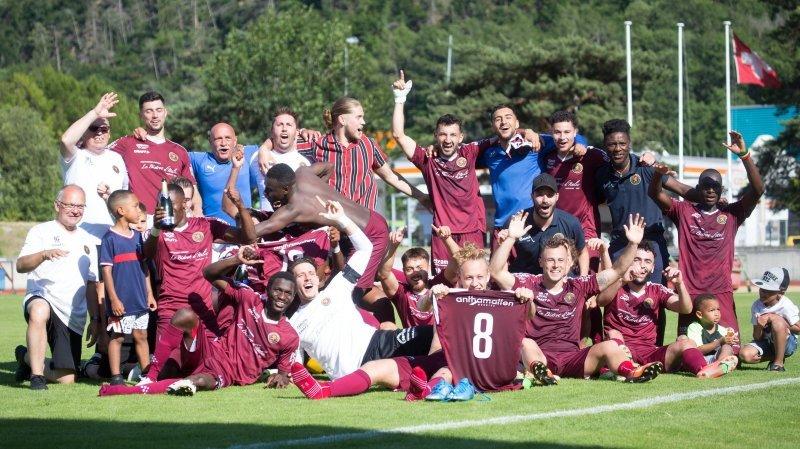 Football: le FC Martigny échappe à la relégation