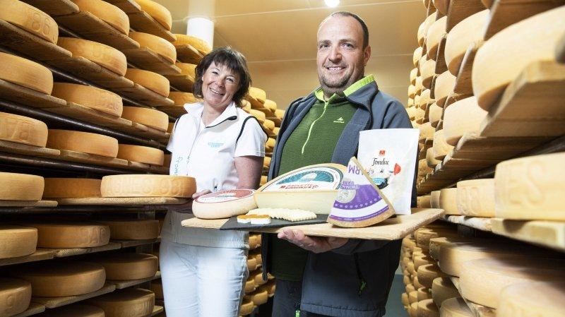 Etiez: un paradis des fromages à l'entrée du val de Bagnes