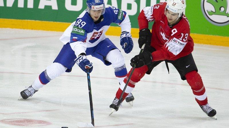 Hockey: Nico Hischier seul valaisan aligné face à la Slovaquie
