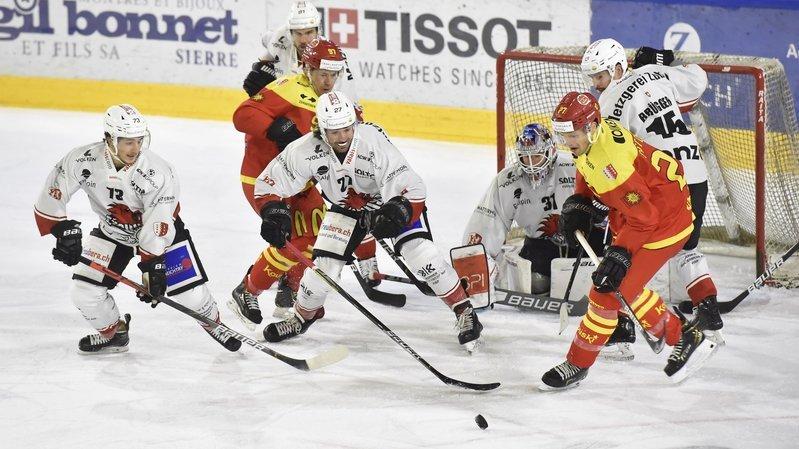 Hockey: Sierre et Viège voient l'avenir un peu plus sereinement