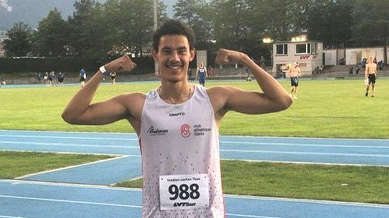 Athlétisme: deux records en deux heures pour Jarod Maury