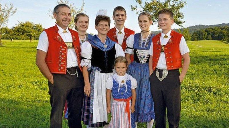 Connue en Suisse alémanique, la Jodlerfamilie Sutter sera de la partie.