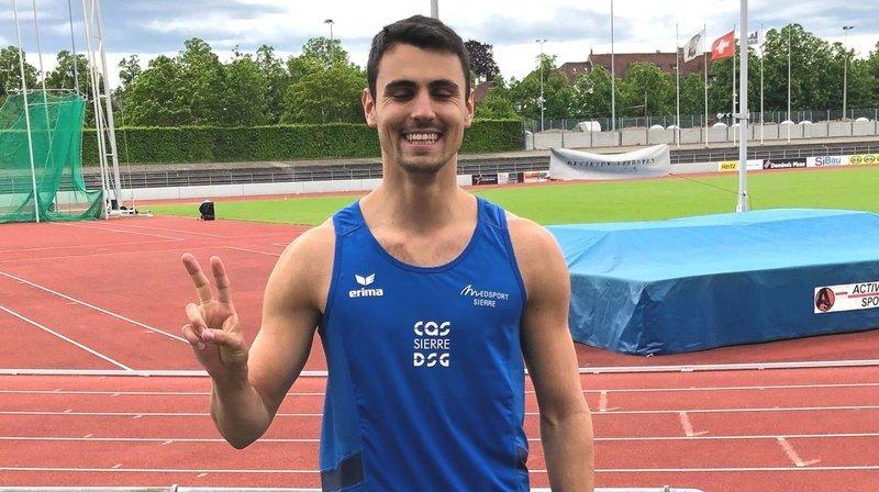 Athlétisme: les Valaisans Julien Bonvin et Soraya Becerra obtiennent leur billet pour les Européens
