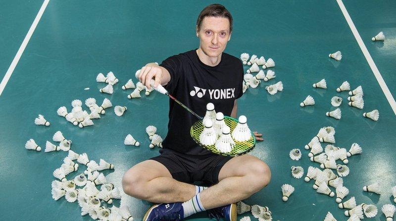 Kai Waldenberger, un fou du volant pour conduire Brigue dans l'élite suisse du badminton
