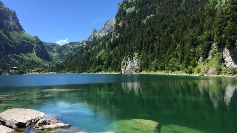 L'accès au lac de Taney mieux régulé pour redonner un semblant de calme à ce site protégé.