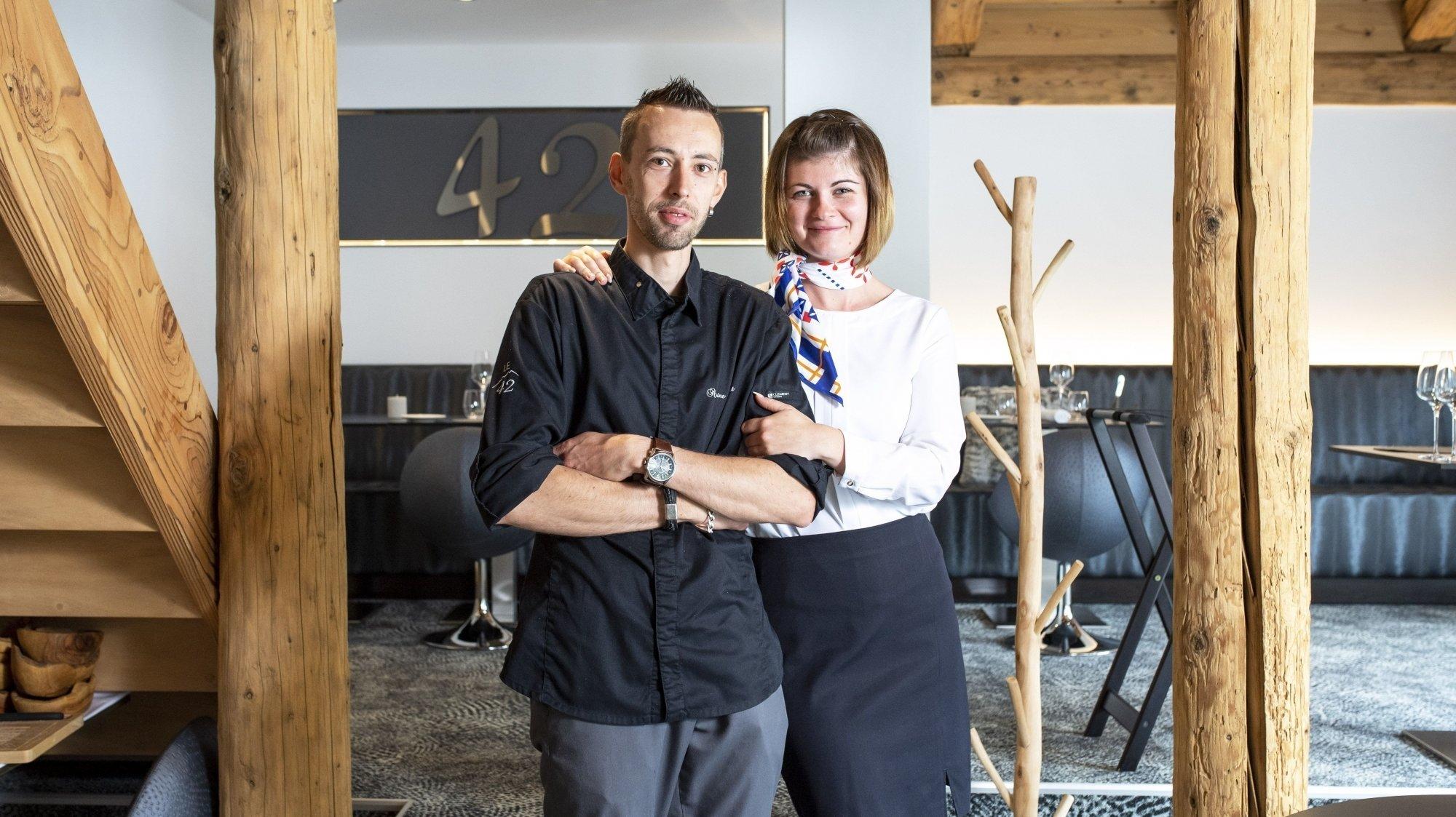 Au 42 à Champéry, Antoine Gonnet et Amandine Pivault, de la gourmandise à revendre