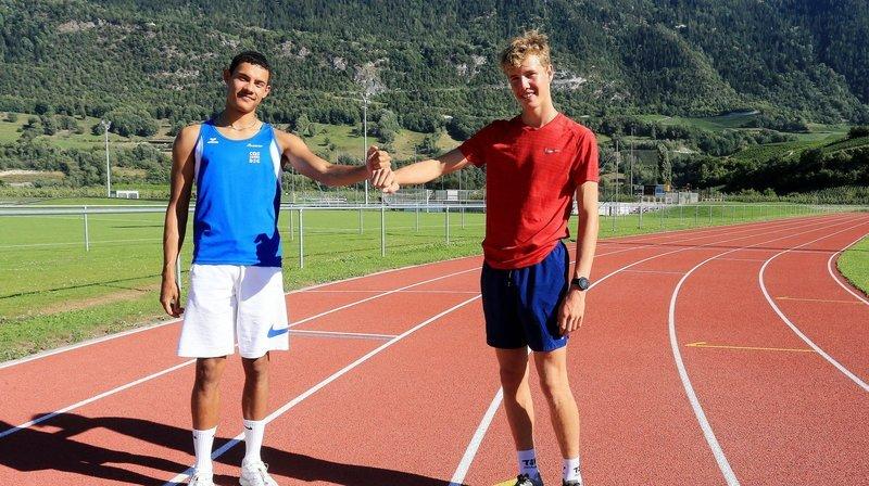 Jarod Maury a battu son record sur 200 mètres. Pierre Perruchoud s'est qualifié pour les Européens U20.