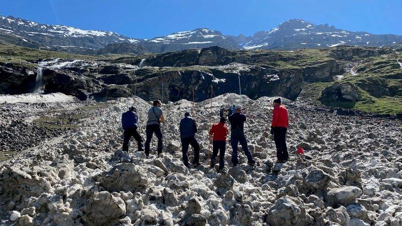 Une personne ensevelie par une avalanche à Mauvoisin
