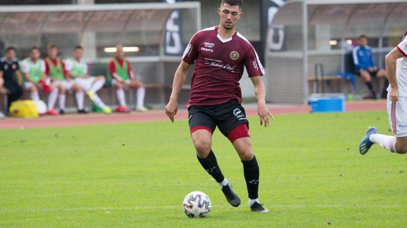 Miguel De Sousa et Martigny évolueront encore en première ligue la saison prochaine.