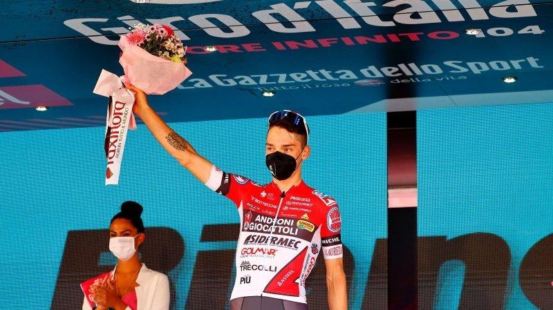 Cyclisme: «A l'avenir, je privilégierai la qualité à la quantité», assure Simon Pellaud