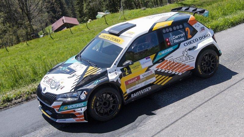 Trois spéciales et autant de meilleurs temps pour Sébastien Carron après la première journée du Rallye du Chablais.