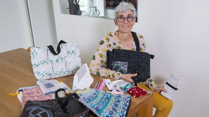 Nos artisans ont du talent: à Monthey, Annick Becerra Monnier fait du recyclage un art de vivre
