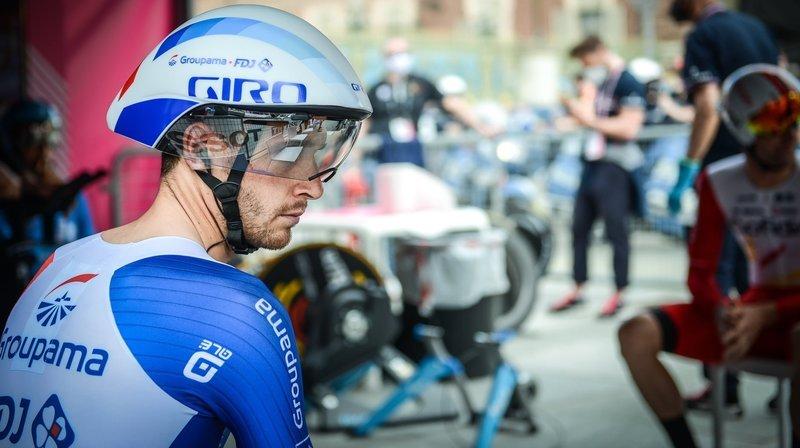 Cyclisme: «J'attends les résultats de l'IRM», informe Sébastien Reichenbach après son abandon