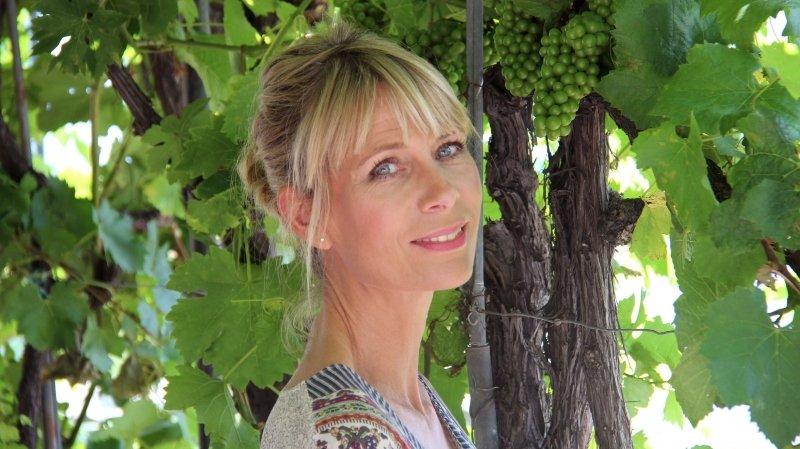 Natalie Sbaï quitte la météo pour les vignes valaisannes