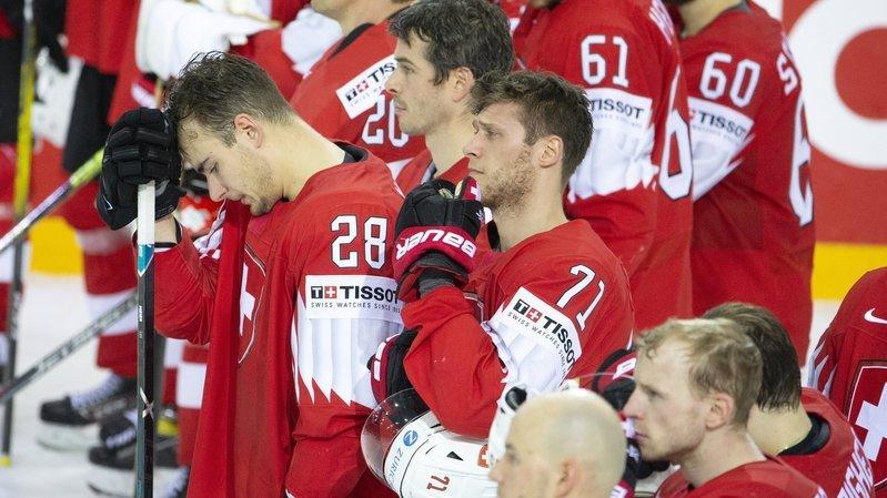 Hockey: le poids de l'histoire s'alourdit pour la Suisse
