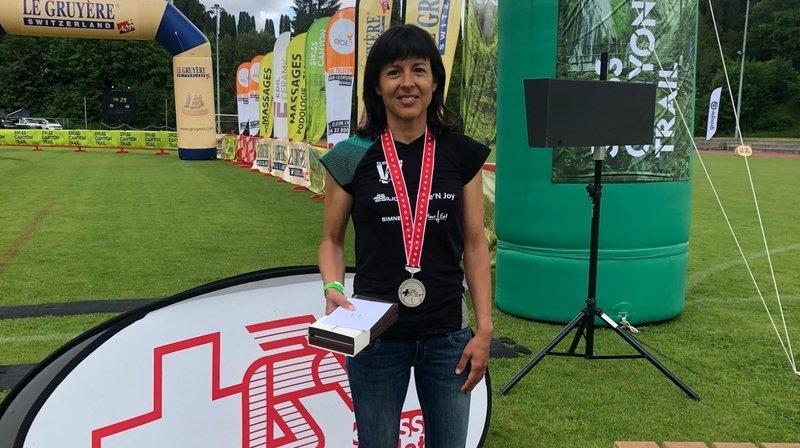 Sara Escobar Carron vice-championne de Suisse de trail running