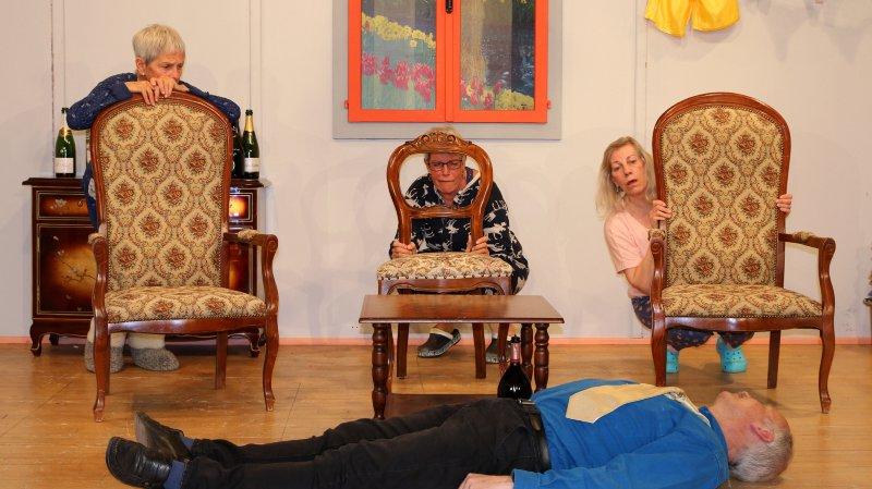 Une maison d'accueil pour personnes âgées où il sera difficile de trouver le repos.