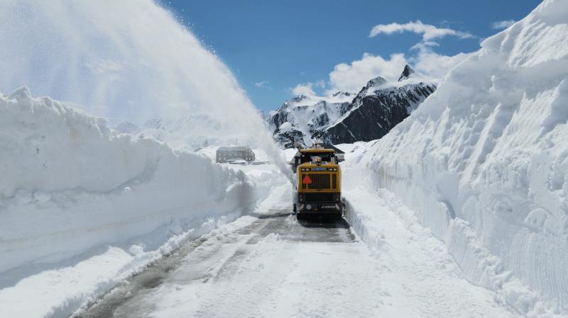 Col du Grand-Saint-Bernard: fin des déblaiements en vidéo
