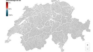 Votations fédérales: tous les résultats par commune et par canton