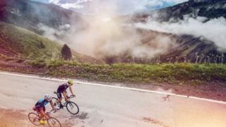 Ride the alps Sanetsch