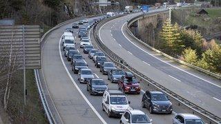 Incendie au Gothard: le tunnel fermé dans les deux sens durant une heure et demie