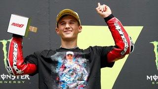Hommage au pilote fribourgeois Jason Dupasquier en Moto3